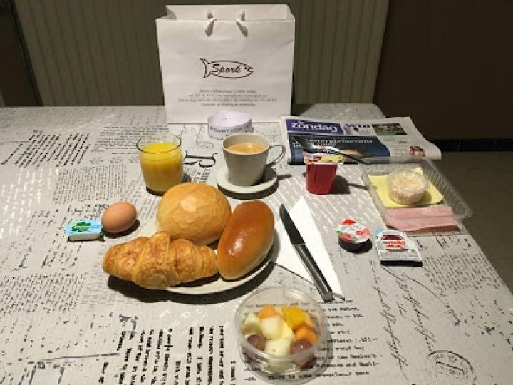 Ontbijt: Bedankt aan iedereen die ons gesteund heeft